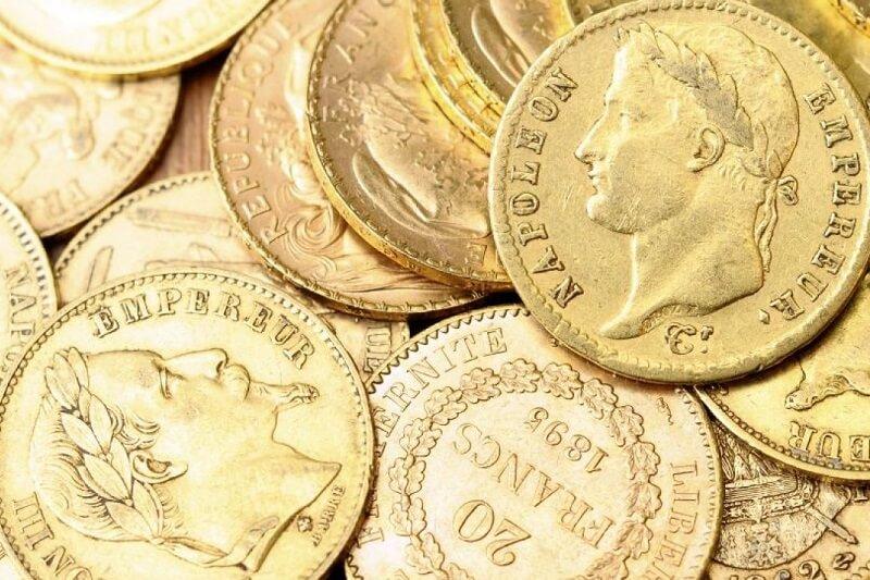 złote monety napoleon