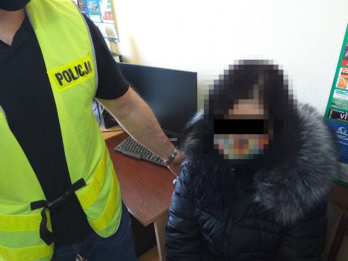 34-latka z Łęcznej odpowie za podpalenie kościoła przy ul. Pogodnej w Lublinie | fot. KMP Lublin