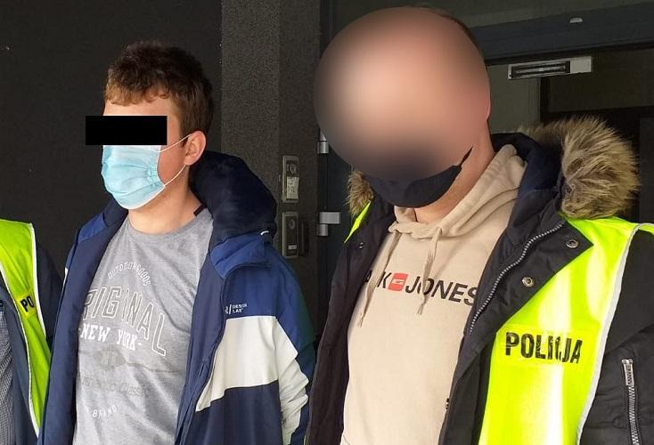 24-latek z Lublina zatrzymany za rozpowszechnianie pornografii dziecięcej | fot. KWP Lublin