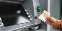 bankomat euro wypłata pieniądze