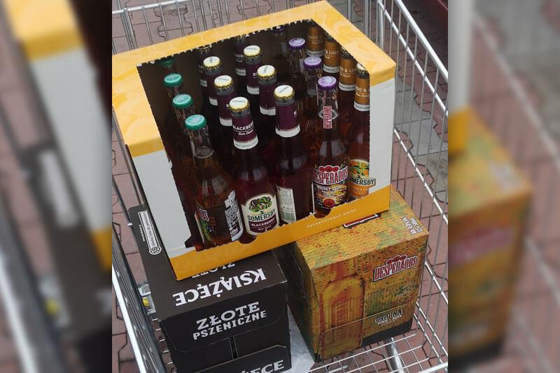 biedronka darmowe piwa promocja