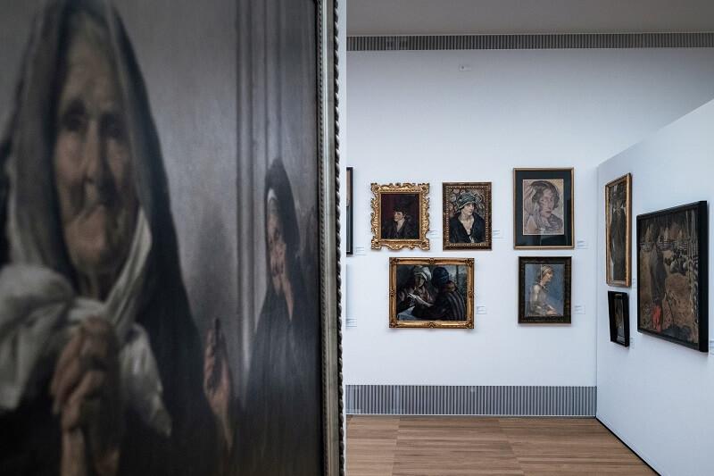 Zespół obrazów w Galerii Malarstwa Polskiego XIX-XX wieku w Muzeum Narodowym w Lublinie