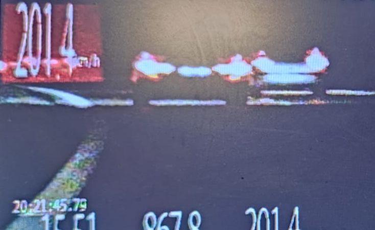 Kierowca BMW jechał 200 km/h po S17 | fot. KPP Puławy