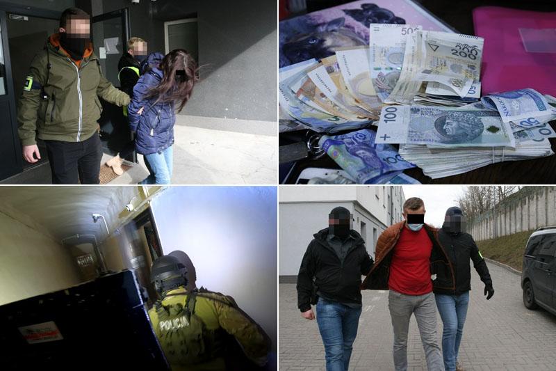 Rozbita grupa przestępcza zajmująca się sutenerstwem | fot. KWP Lublin
