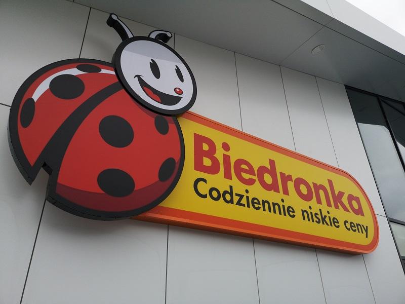 Biedronka przy ul. Bolesława Prusa 8 w Lublinie