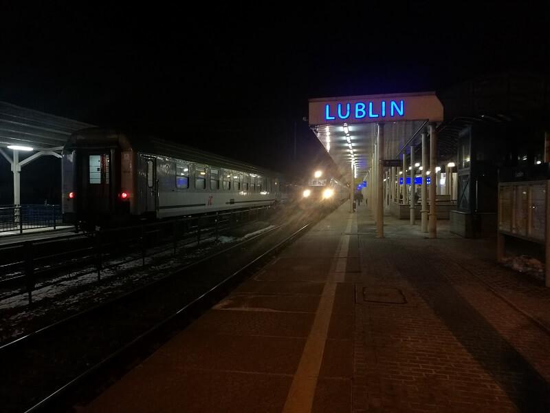 dworzec kolejowy pkp lublin