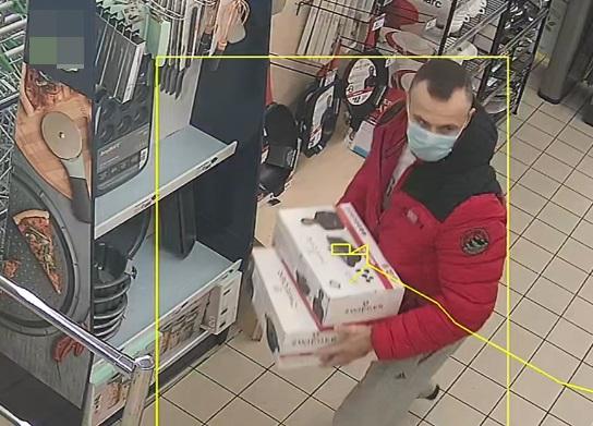 Policjanci poszukują mężczyzny ze zdjęcia do sprawy kradzieży sklepowej