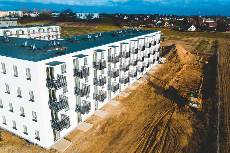 """Przy ul. gen. S. Roweckiego """"Grota"""" w Świdniku powstało 108 mieszkań w ramach programu Mieszkanie Plus"""