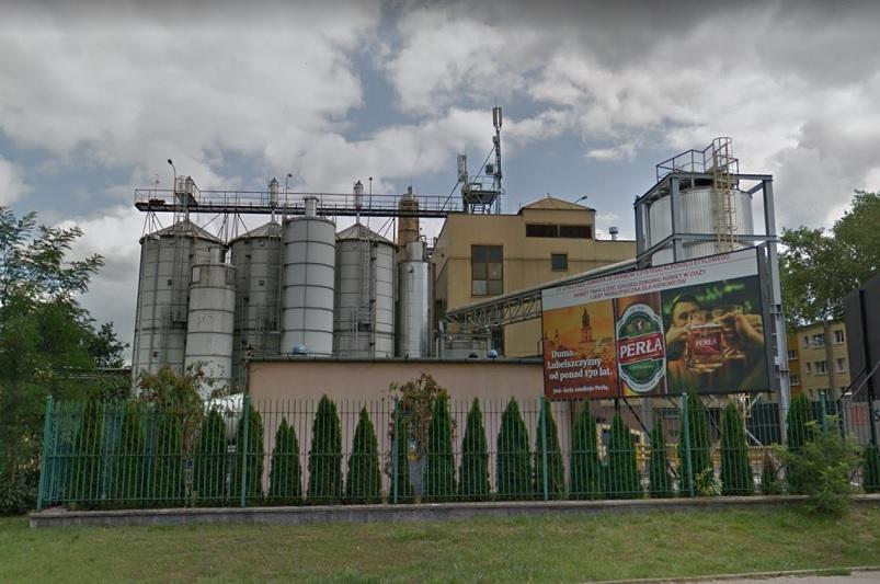 Zakład produkcyjny Perła Browary Lubelskie S.A. przy ul. Kunickiego w Lublinie