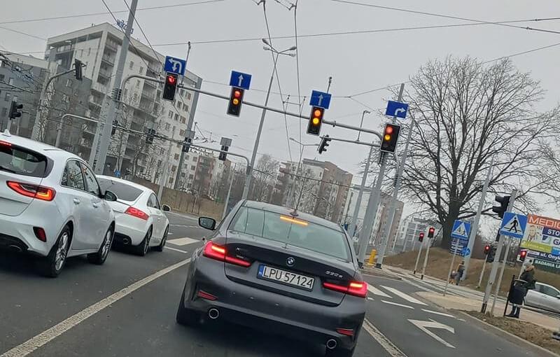 Policyjne BMW na ulicach Lublina | fot. Radosław Adamczyk, Kontrole Policji Lublin i okolice
