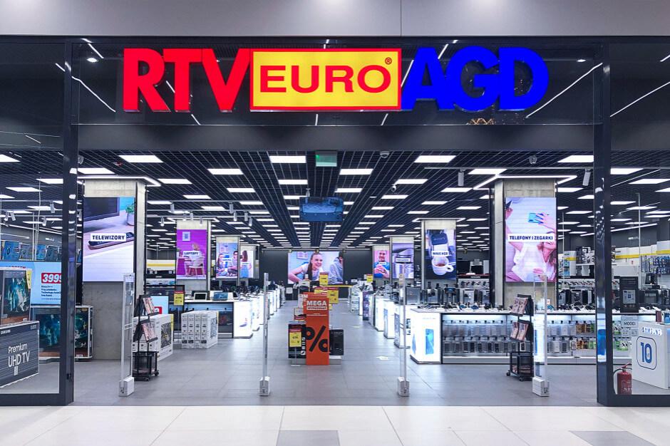 Sklep z elektroniką RTV Euro AGD