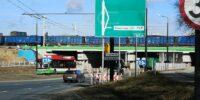 Remont wiaduktu kolejowego nad ul. Diamentową | fot. Dominik Wąsik