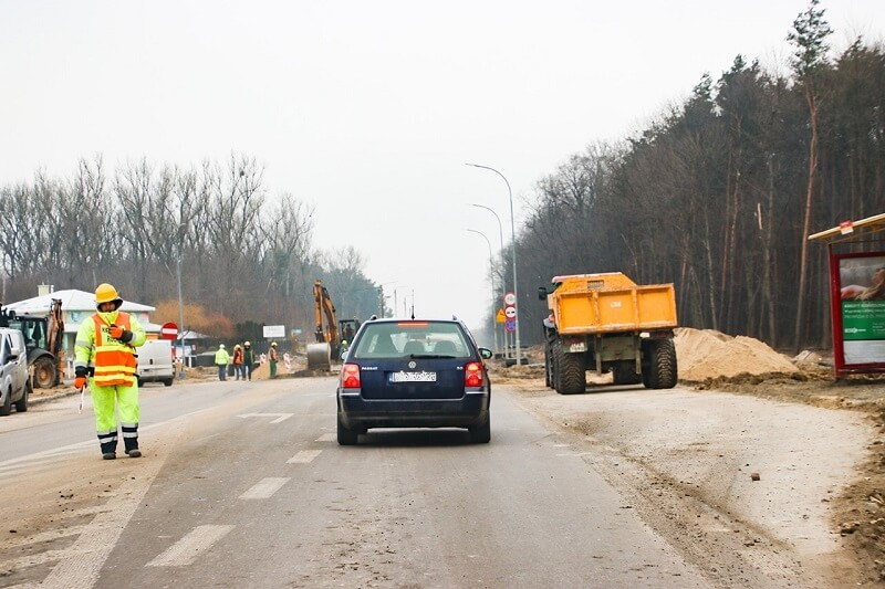 Drogowcy zamkną na 4 miesiące ul. Urzędowską w Kraśniku | fot. Wojciech Wilk