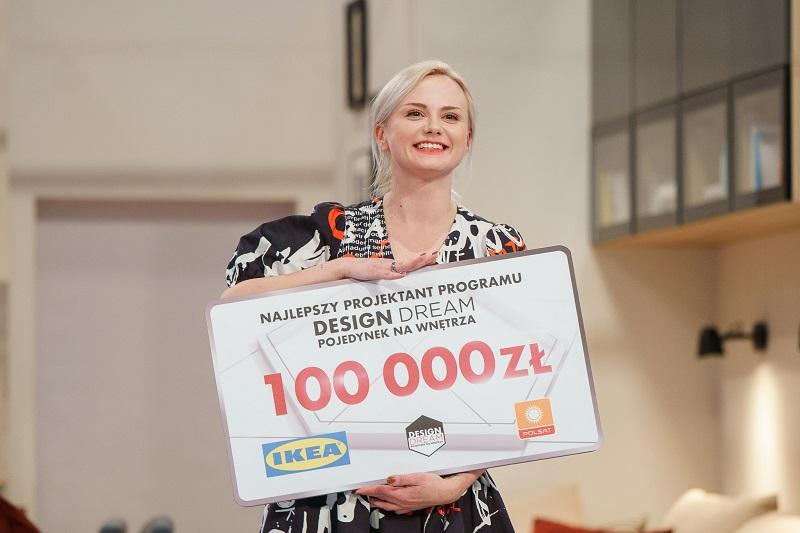 Lublinianka Anna Mazur zdobyła tytuł najlepszej projektantki i 100 tys. zł