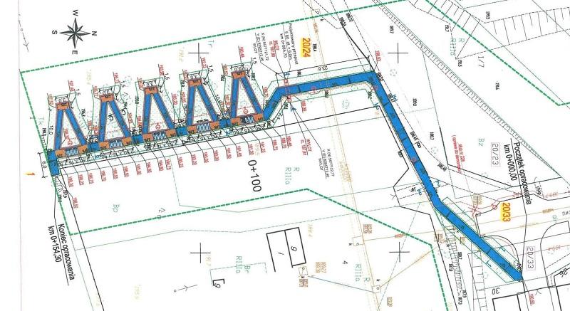 Chodnik na przystanek PKP Lublin-Zachód