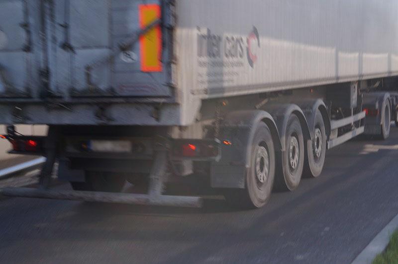 ciężarówka tir naczepa