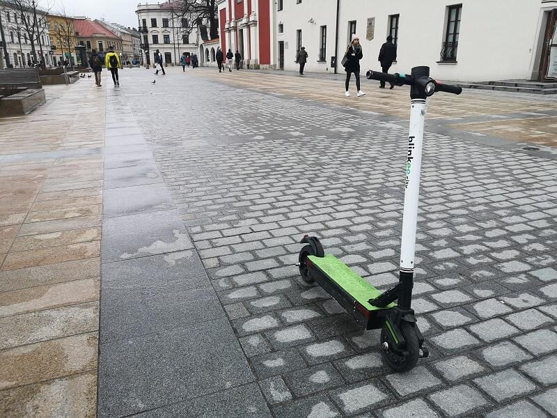 Elektryczne hulajnogi blinkee w Lublinie