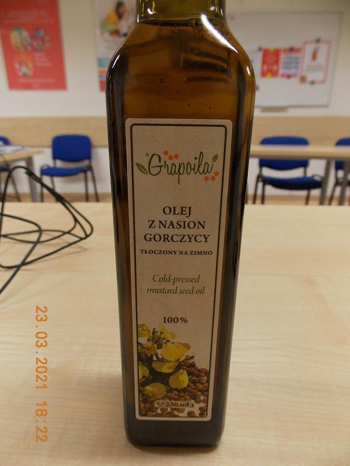 Grapoila olej z nasion gorczycy