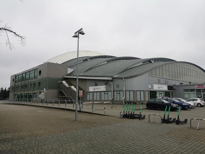 Hala Globus przy ul. Kazimierza Wielkiego w Lublinie