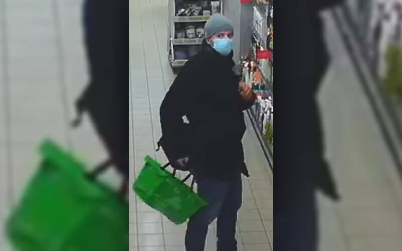 Policja publikuje wizerunek złodzieja sklepowego