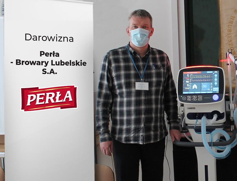 lek. med. Dariusz Gałecki - Dyrektor Samodzielnego Publicznego Zespołu Opieki Zdrowotnej w Hrubieszowie