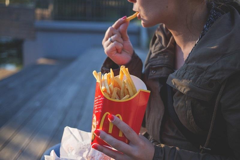 mcdonalds frytki fast food