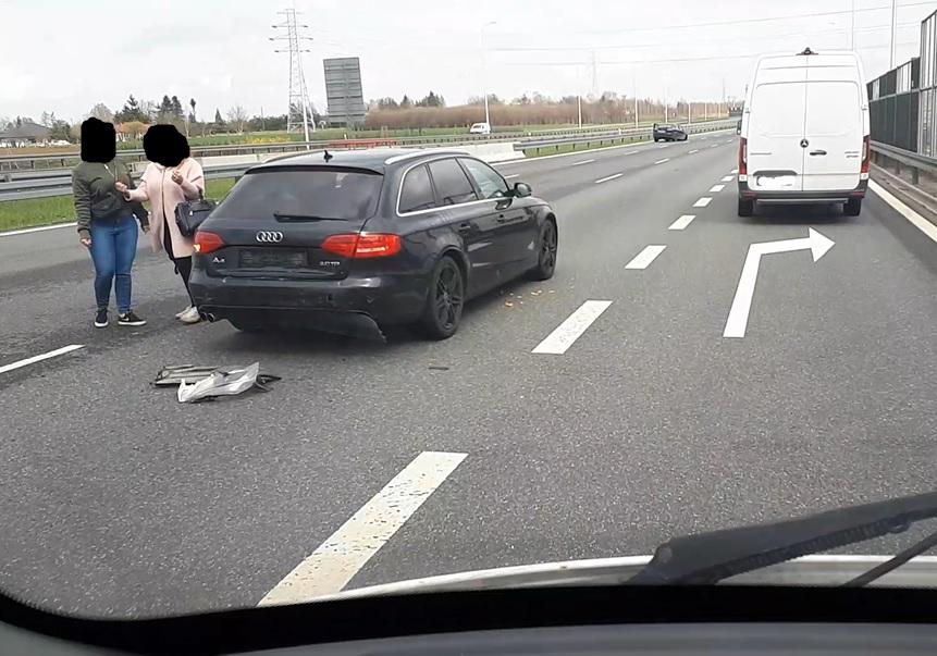 Zderzenia audi i forda na obwodnicy Lublina S12/S17