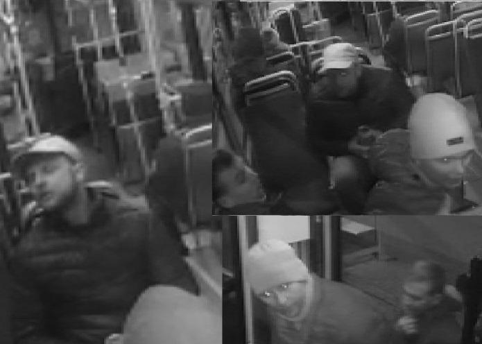 Policjanci poszukują agresywnych pasażerów miejskiego autobusu