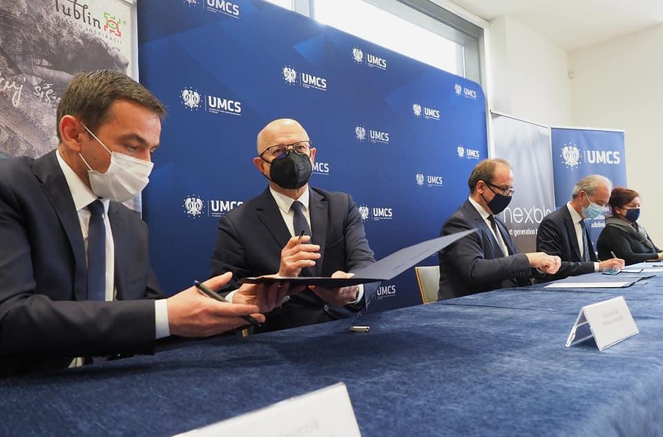 Miasto Lublin, MPWiK, UMCS i firma Nexbio nawiązały współpracę dot. badania ścieków komunalnych