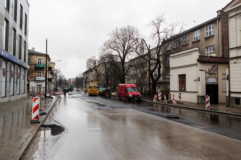 Remont ulicy Lipowej