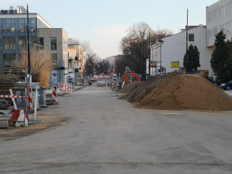 Przebudowa ulicy Lipowej w Lublinie
