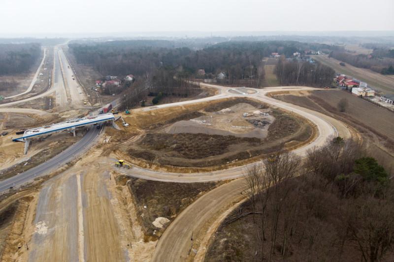 Budowa węzła Kraśnik Północ w ciągu S19 i DK19