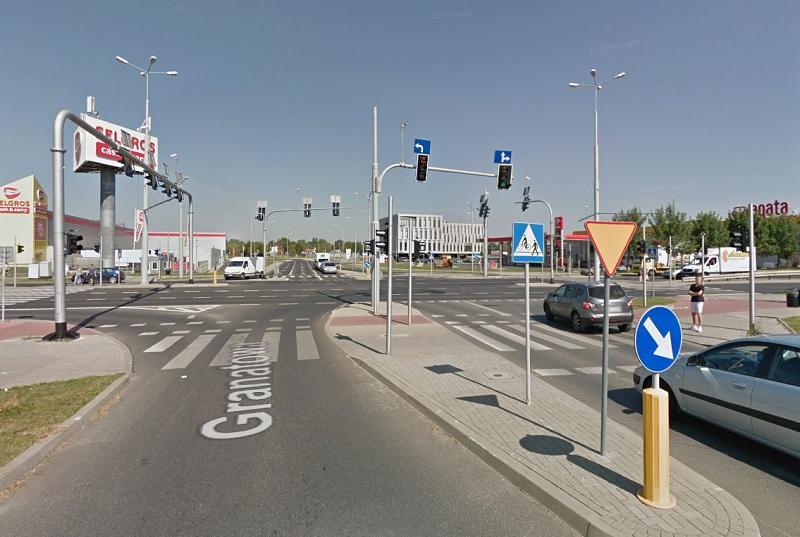 Rozbudują skrzyżowanie ul. Gęsiej z ul. Jana Pawła II w Lublinie