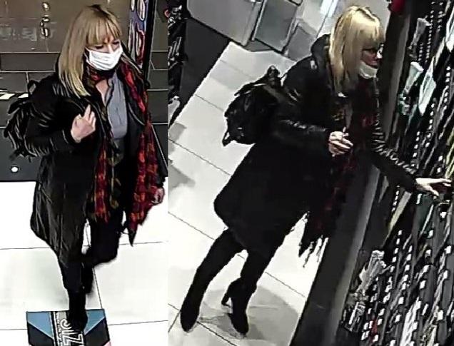 Policjanci poszukują kobiety ze zdjęcia do sprawy kradzieży perfum