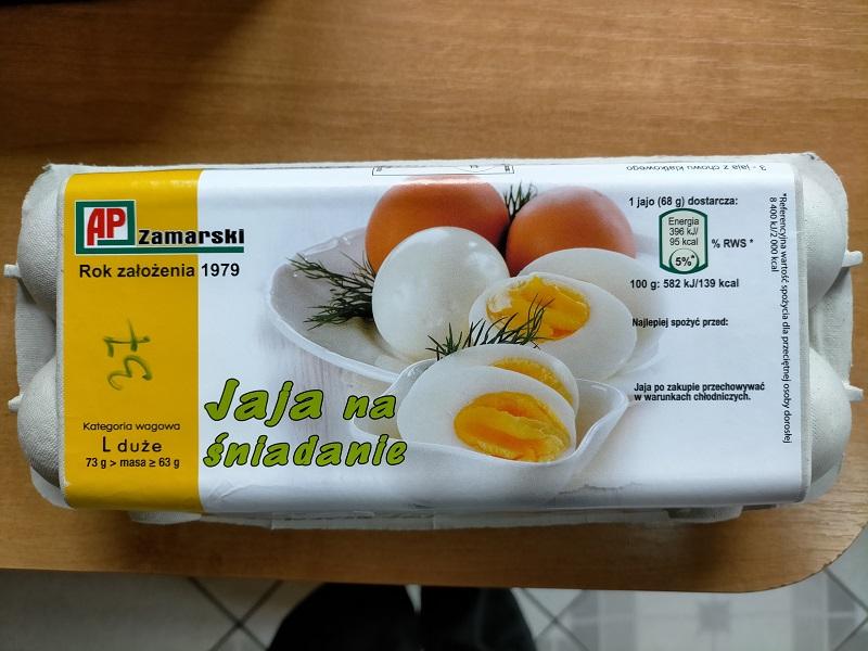 Wycofane ze sprzedaży jajka