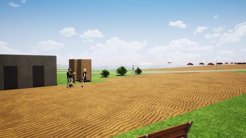 Wizualizacja zmian nad zalewem w Kraśniku