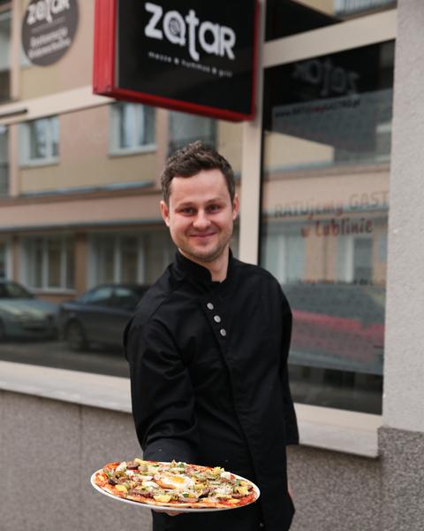 Łukasz Wójcik – właściciel restauracji ZATAR