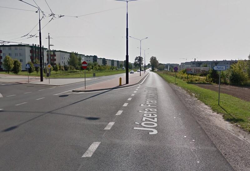 Ulica Józefa Franczaka