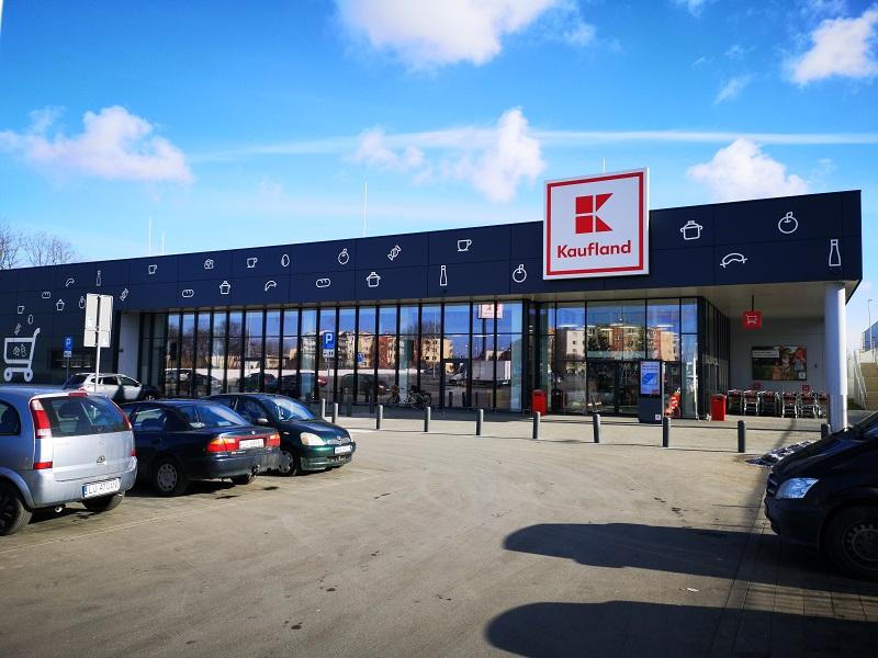 Sklep Kaufland przy ul. Diamentowej w Lublinie