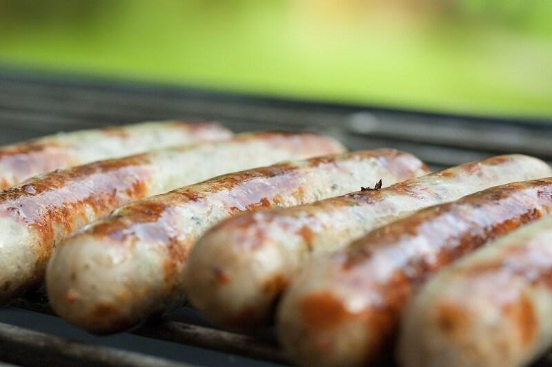 kielbaski grill