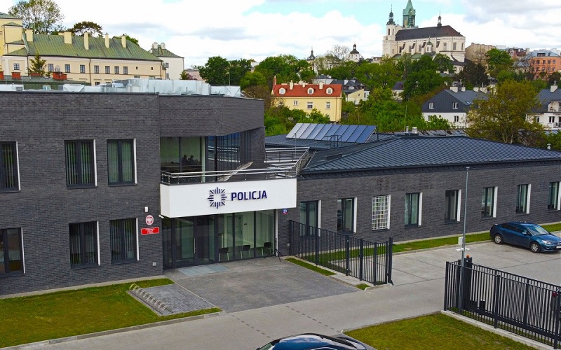 Nowa siedziba I Komisariatu Policji przy al. Unii Lubelskiej 23 w Lublinie