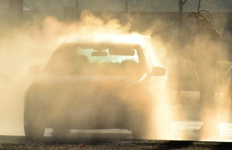 samoobsługowa myjnia samochodowa myjka
