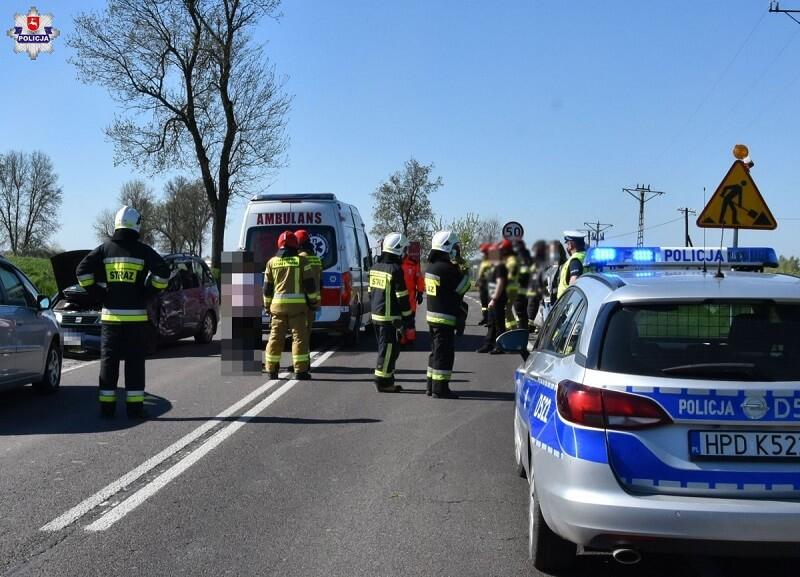 Tragiczny wypadek na drodze krajowej nr 19 w m. Słodków Drugi