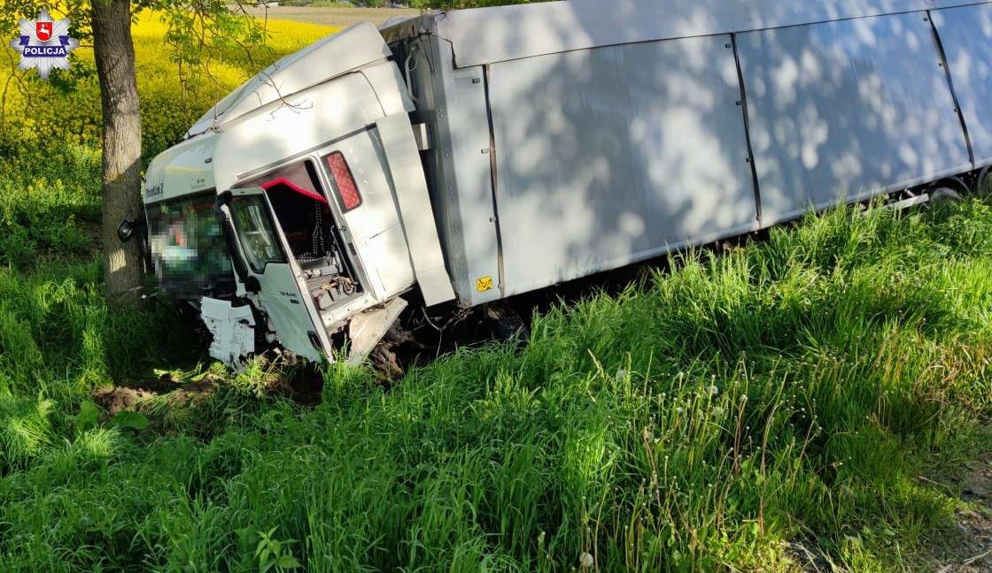 Śmiertelny wypadek w Hredkowie na drodze wojewódzkiej nr 812