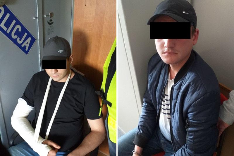 Policjanci zatrzymali sprawców pobicia 61-latka w Turce
