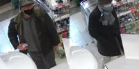 Policjanci poszukują mężczyzn ze zdjęcia do sprawy kradzieży dokumentów