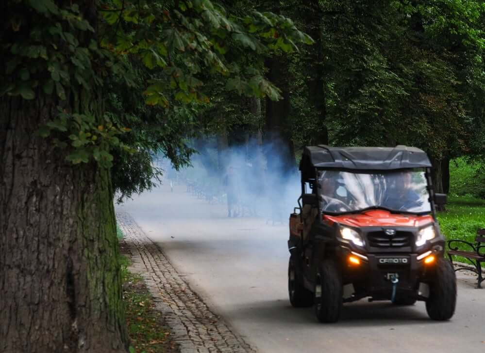 Akcja odkomarzania w Lublinie