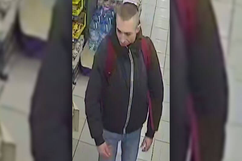 Policja publikuje wizerunek sklepowego złodzieja