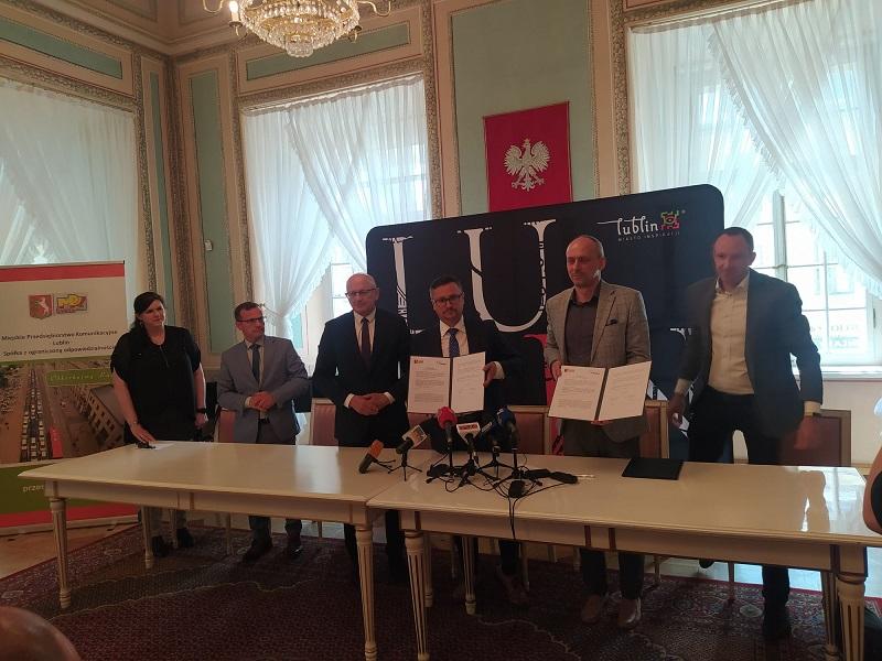 Podpisano list intencyjny pomiędzy Grupą ZE PAK i MPK Lublin, w celu zapewnienia ciągłości dostaw wodoru