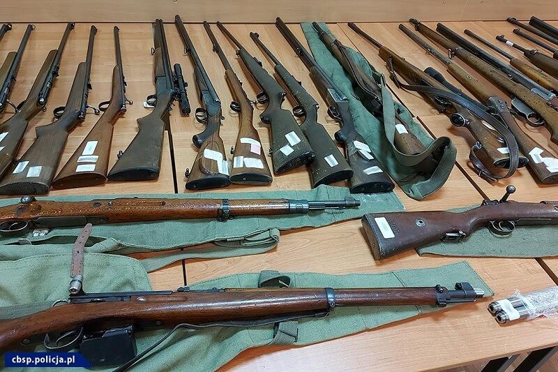 Zabezpieczona nielegalna broń